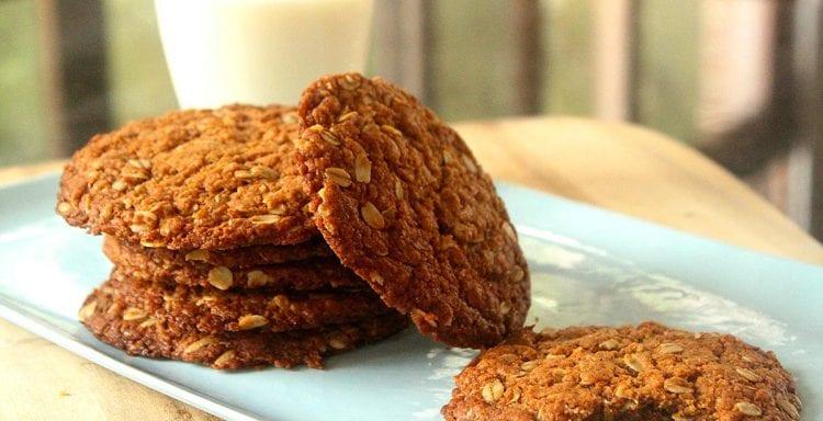 Brenda Janschek - Healthy Anzac Biscuits