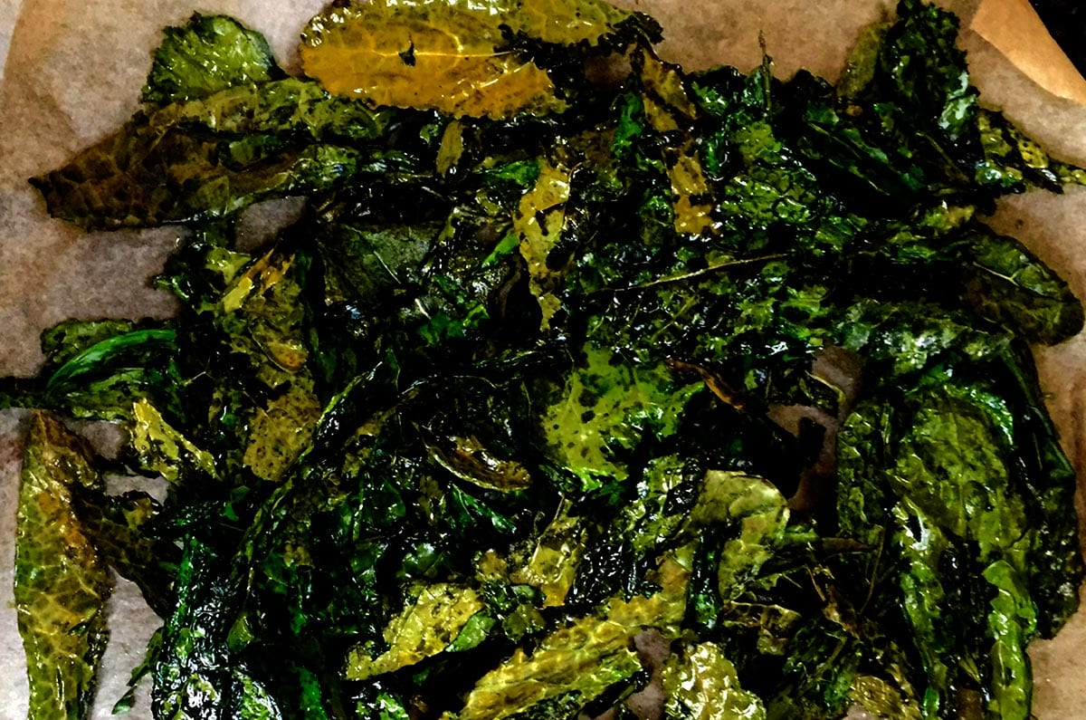 Brenda Janschek - Kale Chips