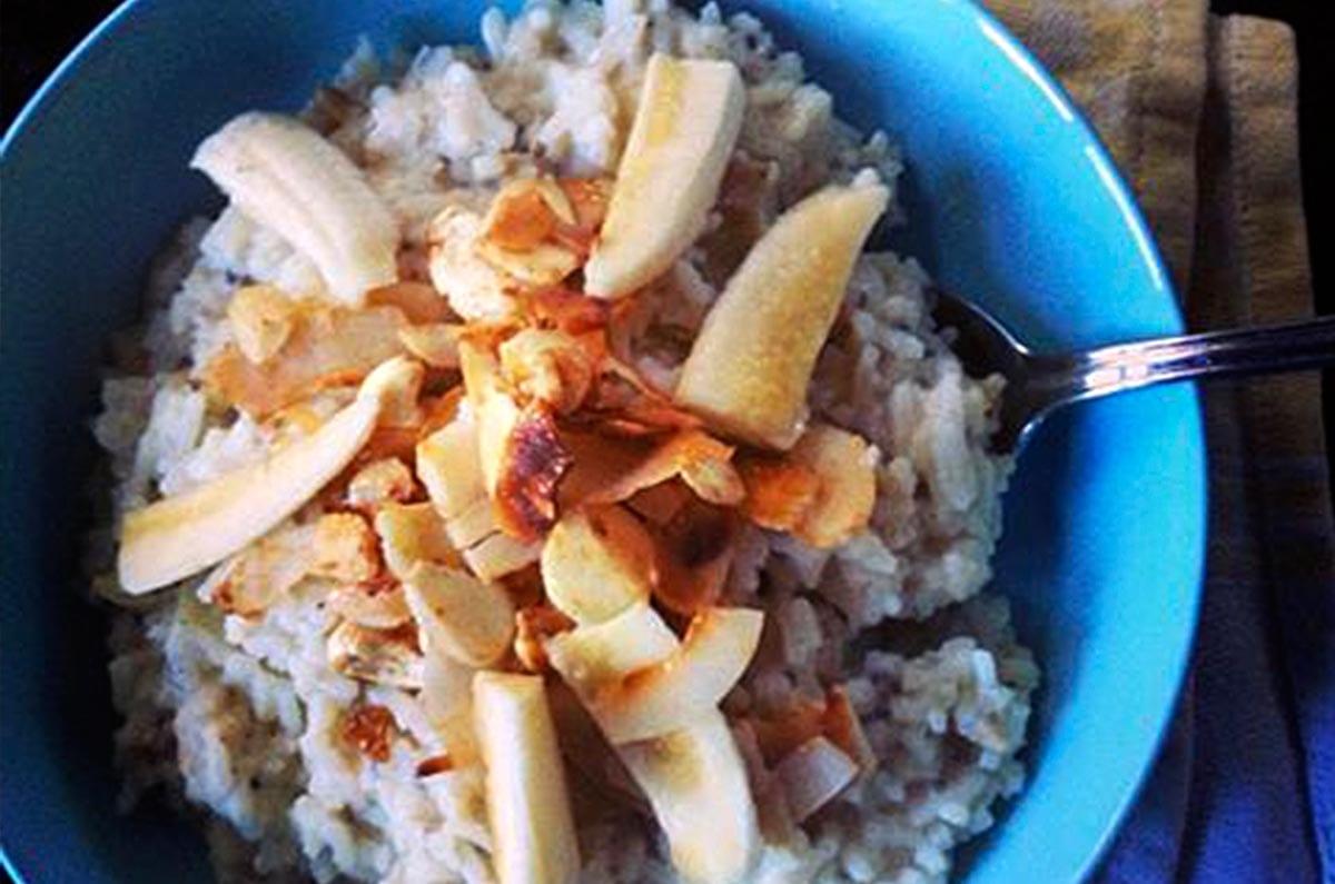 Coconut Ginger Infused Rice Porridge Brenda Janschek