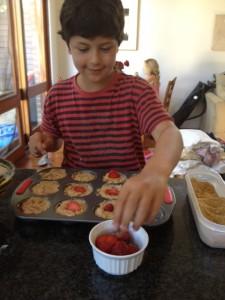 Strawberry Muffins Orli