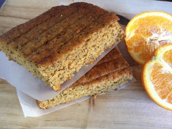 Orange Poppyseed Cake