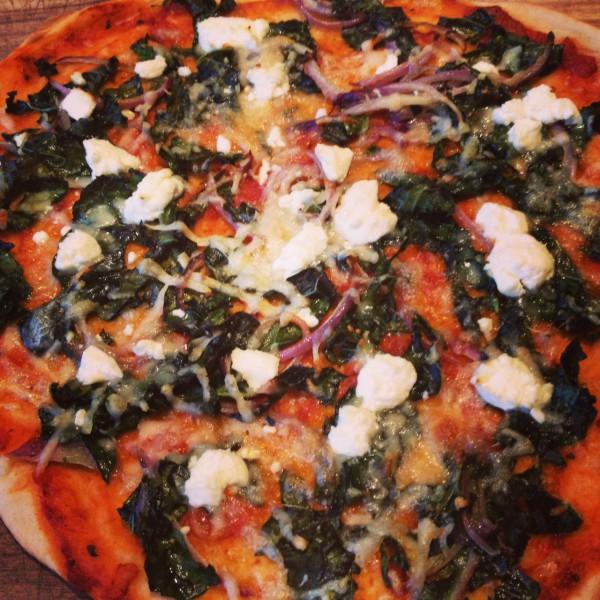 Kale Pizza 2