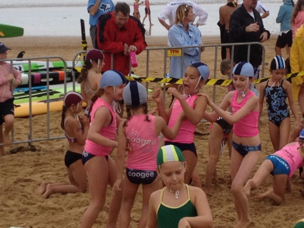 Nippers mucking around