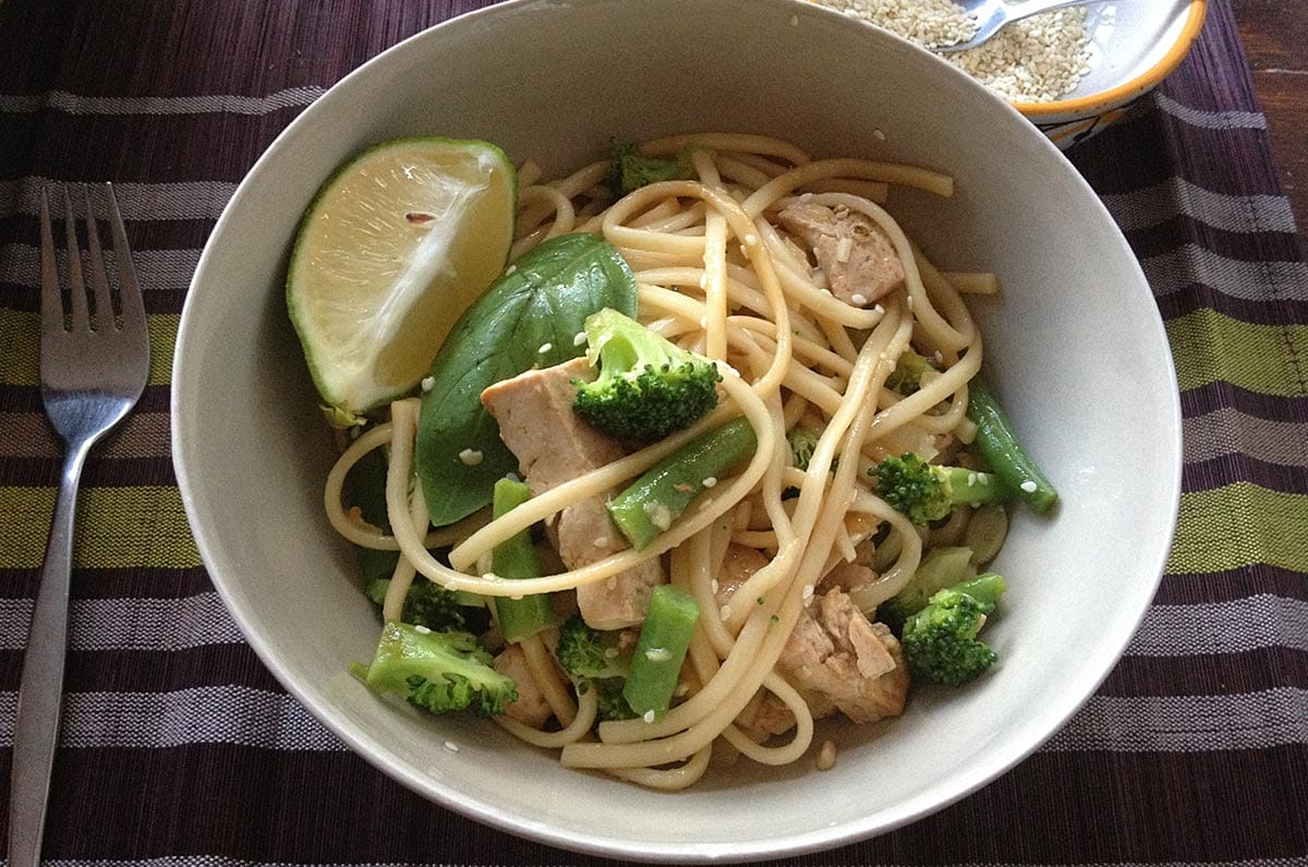 Brenda Janschek - Asian Style Vegetable and Noodle Salad