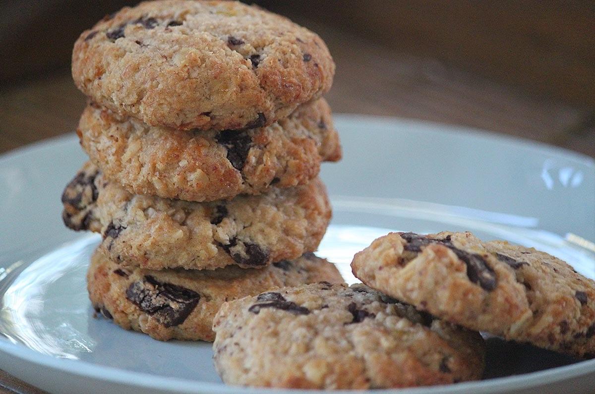 Brenda Janschek - Chewy Choc Banana Cookies