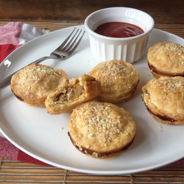Meat Pies with bite