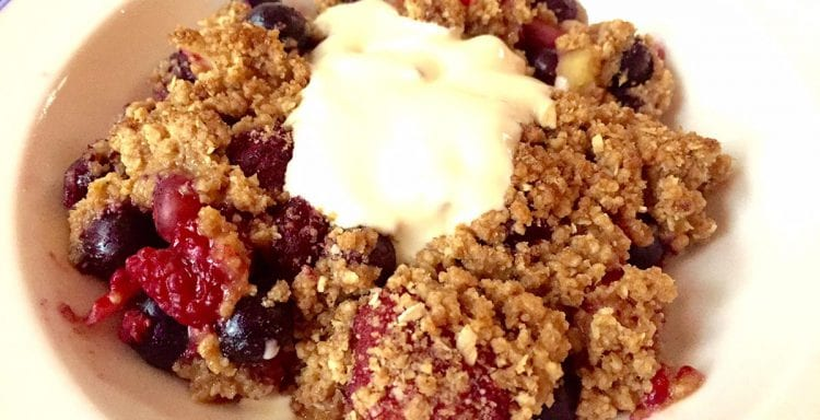Brenda Janschek - Apple Crumble Feature