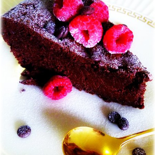Chocolate Cake Flourless Expresso Quirky Cooking