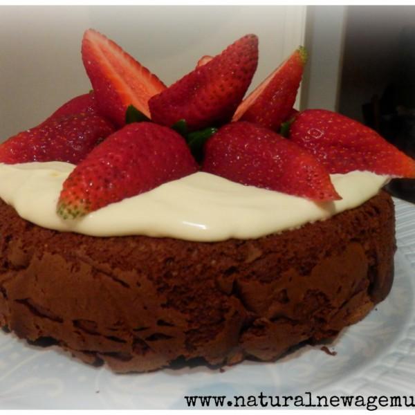 Chocolate cake chocolate yoghurt cake NNAM