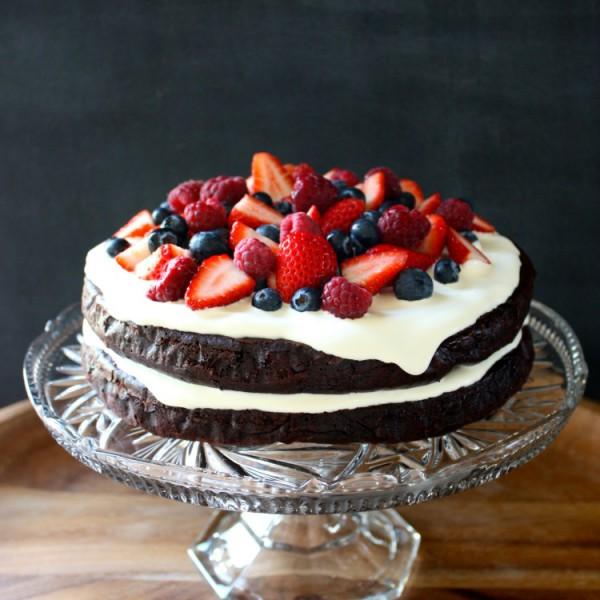 Chocolate Chia Cake Tania