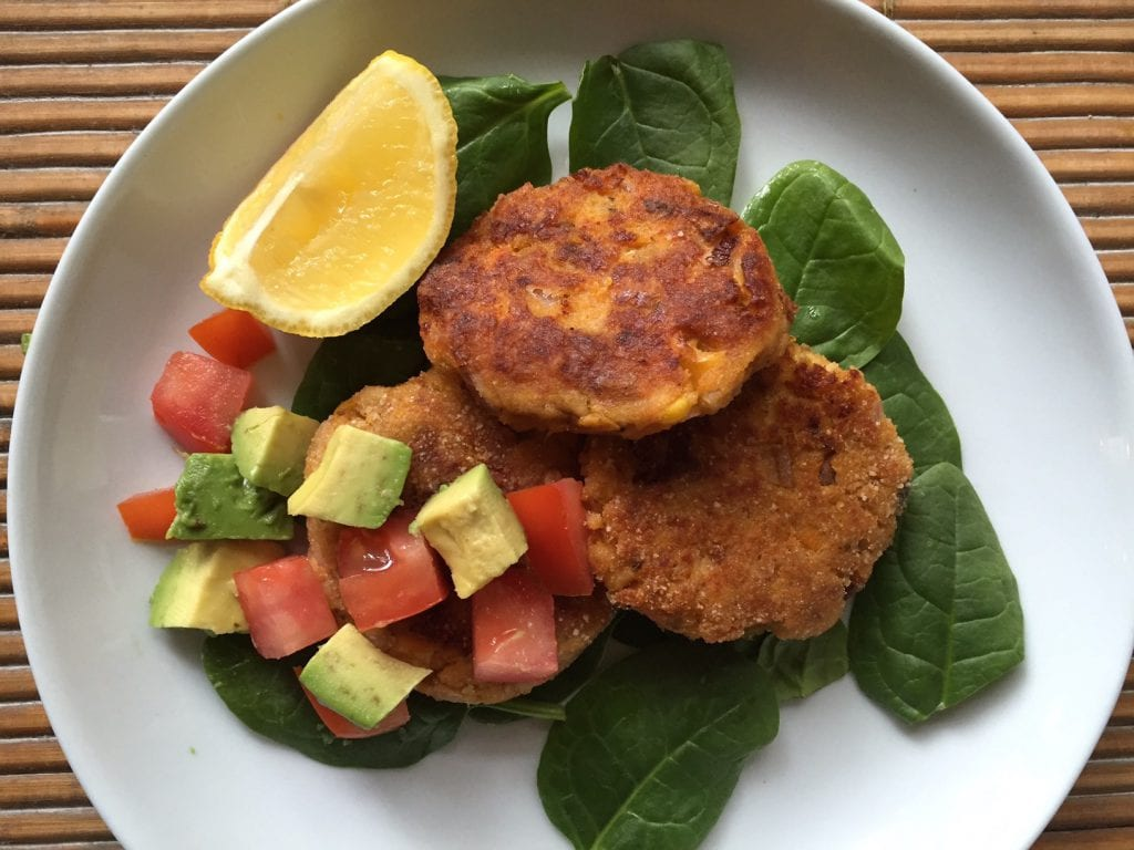 Salmon Fritters 2
