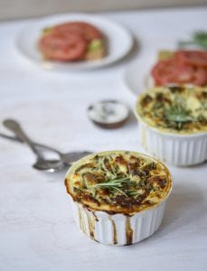 Cheese, Ham and Spinach Hot Pots from Real Food for Hungry Teens