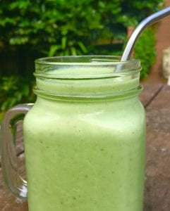 Ginger, Mint and Green Apple Smoothie 2