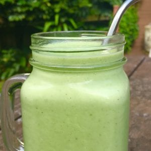 Ginger, Mint and Green Apple Smoothie