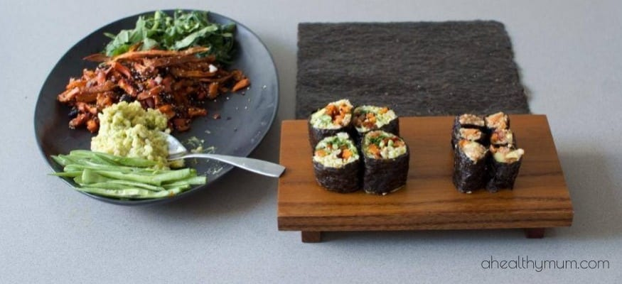 Brown-Rice-Avocado-Sushi Stace