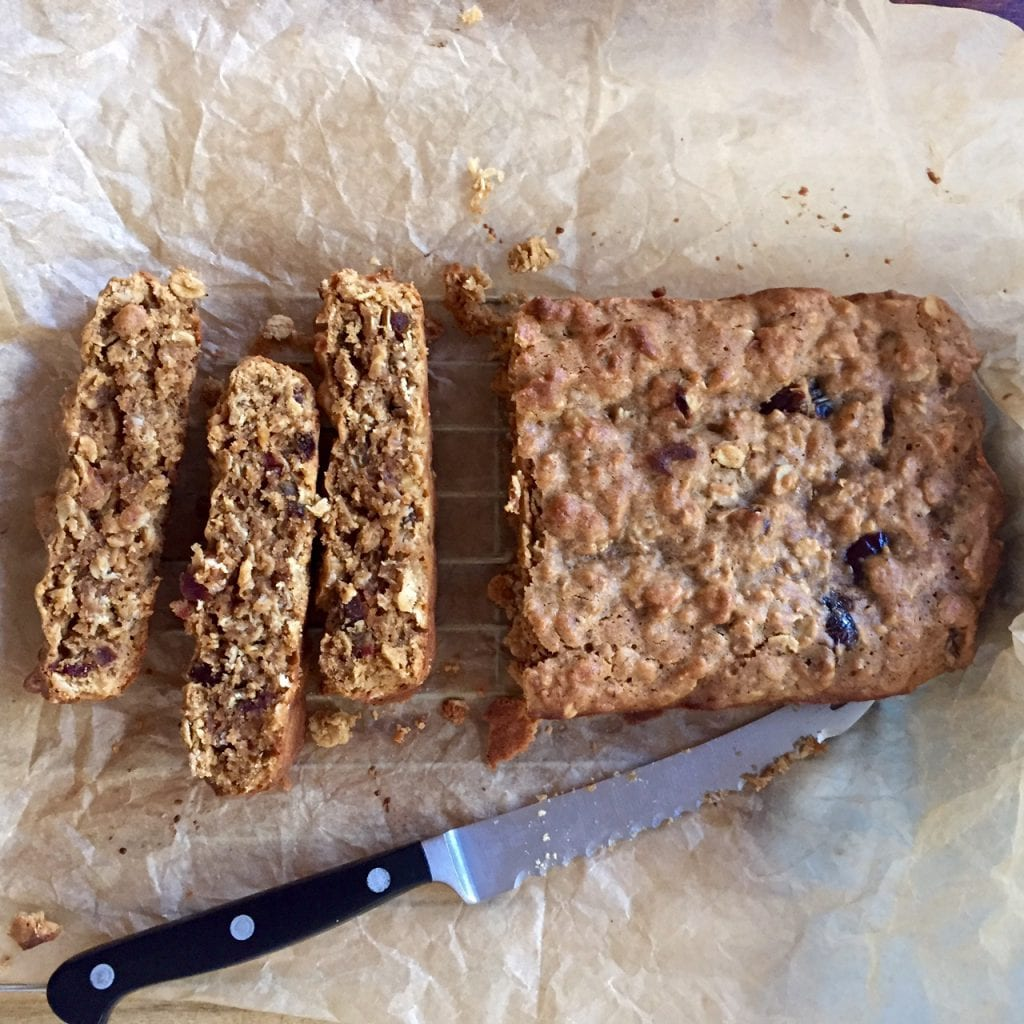 Oat, Seed and Date Bar