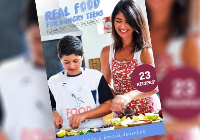 Real Food For Hungry Teens Book