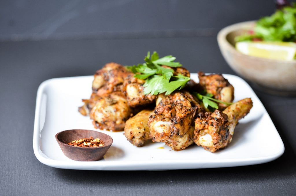 Brenda Janschek - Spicy Chicken Wings Feature