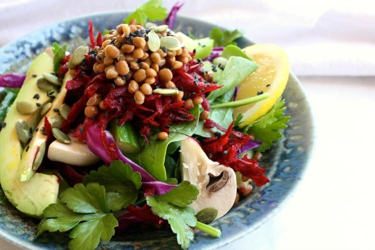 Super Cleanse Salad mixed 1