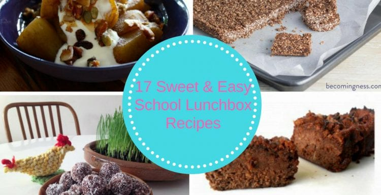 16 sweet and easy school lunch box recipes