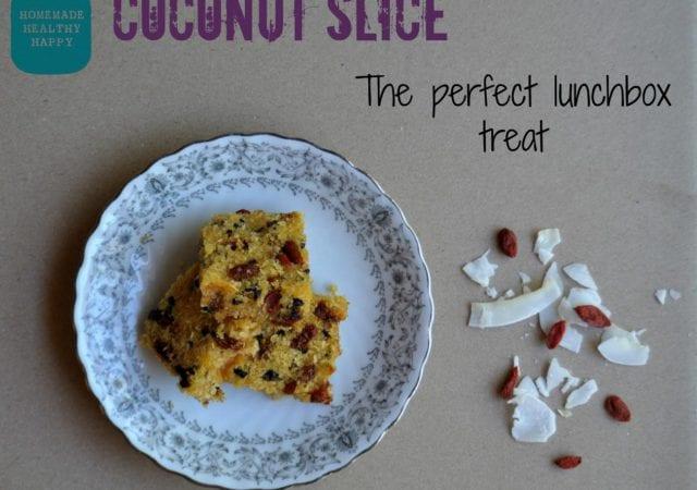 Coconut slice sarah groom