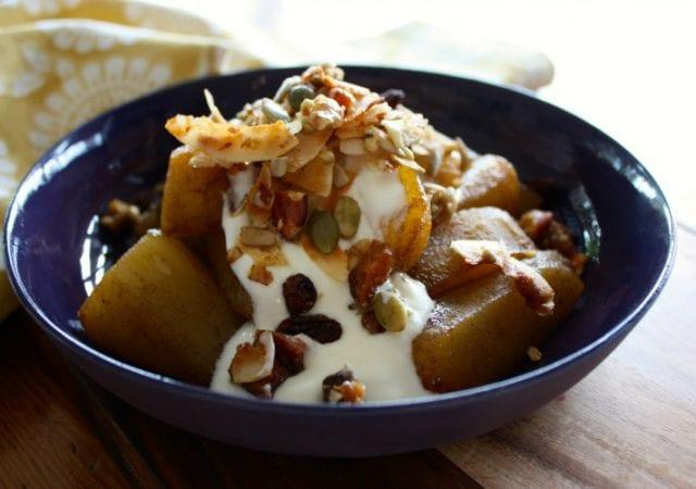 simple stewed pears mamacino