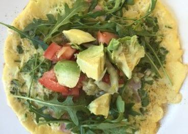 open-omellete