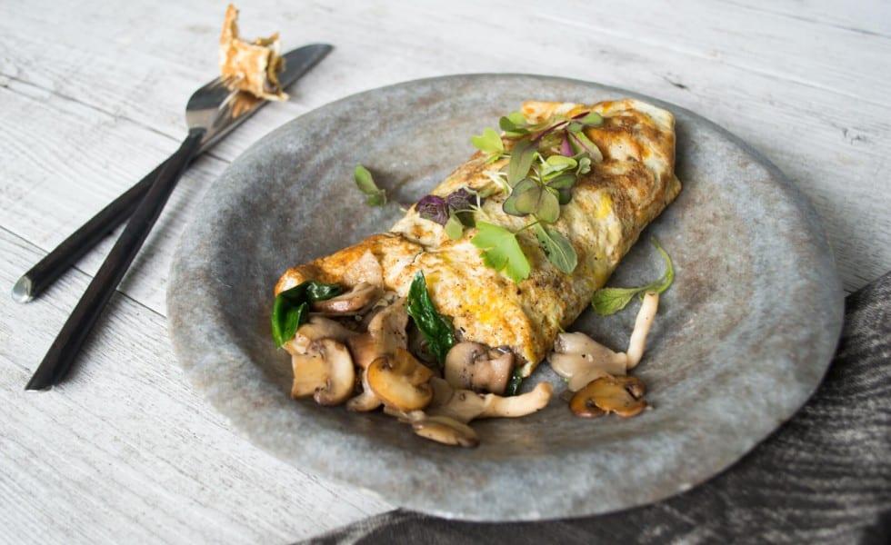 well-nourished-mushroom-omelette-wrap