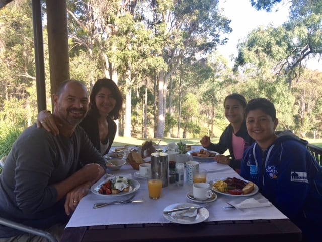 Elfin Hill Breakfast Family photo