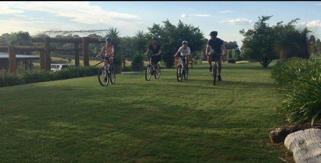 Family Bikeriding