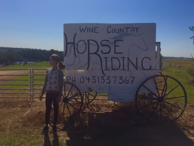 Horseriding Sign