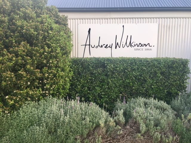 Hunter Valley Audrey Wilkonson Sign