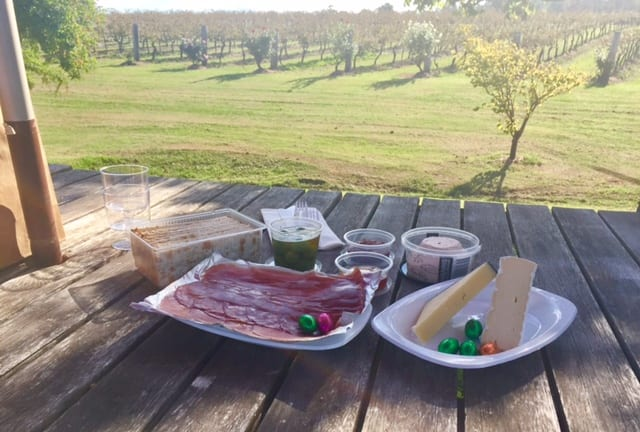 Hunter Valley Callais Winery Picnic Lunch