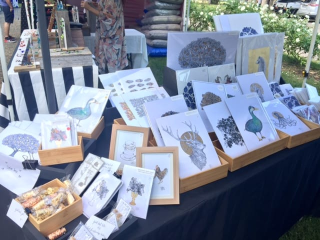 Hunter Valley Markets Art Stall
