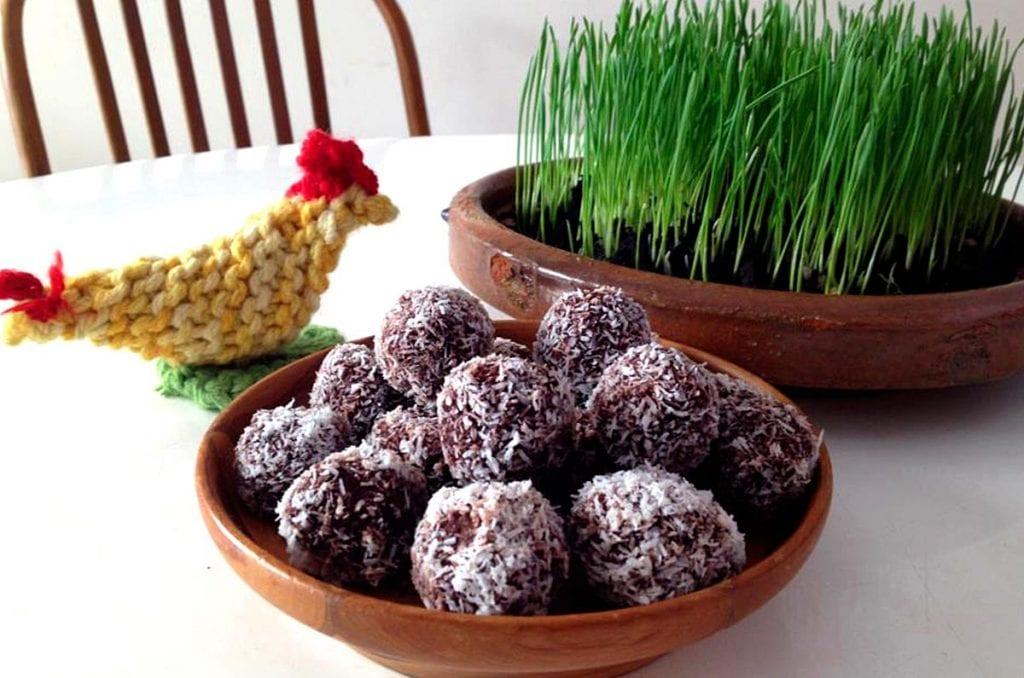 Brenda Janschek - Raw Cacao Balls