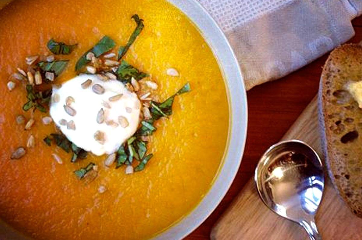 Brenda Janschek - Pumpkin Root Vegetable Soup