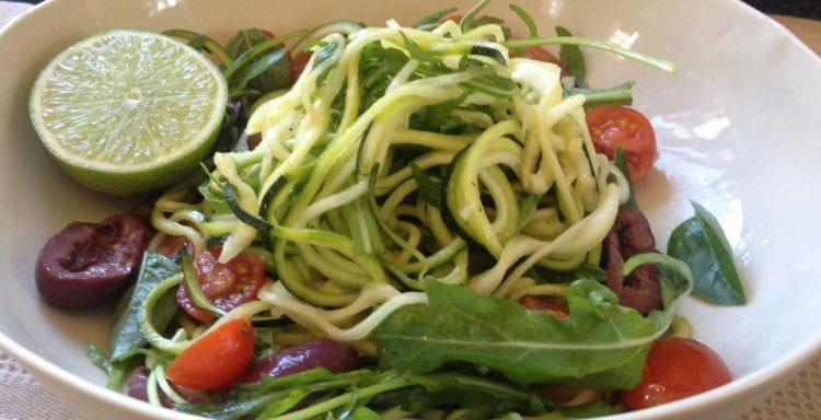 Brenda Janschek - Zucchini Noodle Salad Feature
