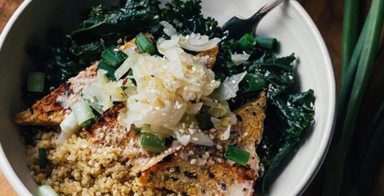 Brenda Janschek - Shitake Kale Bowl Feature