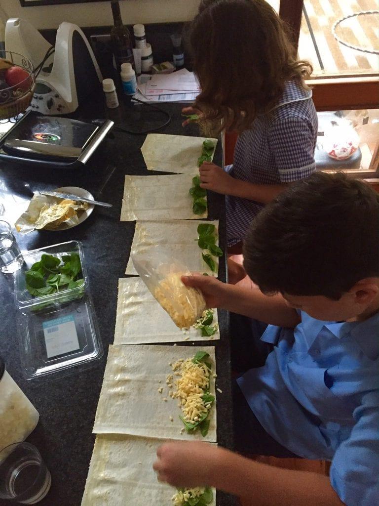 Biome post kids making toasties