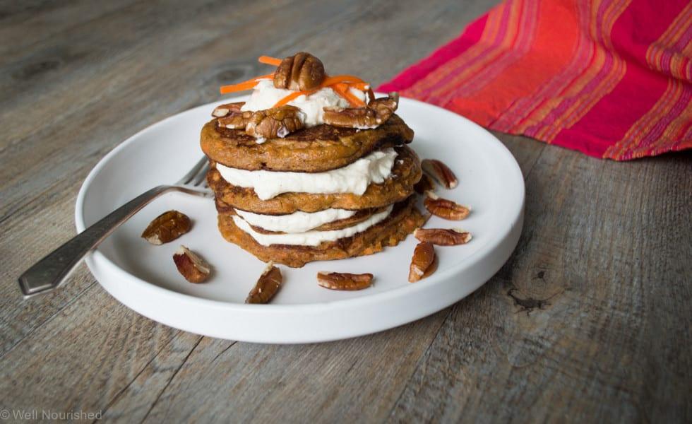 Carrot-cake-pancake-well nourished