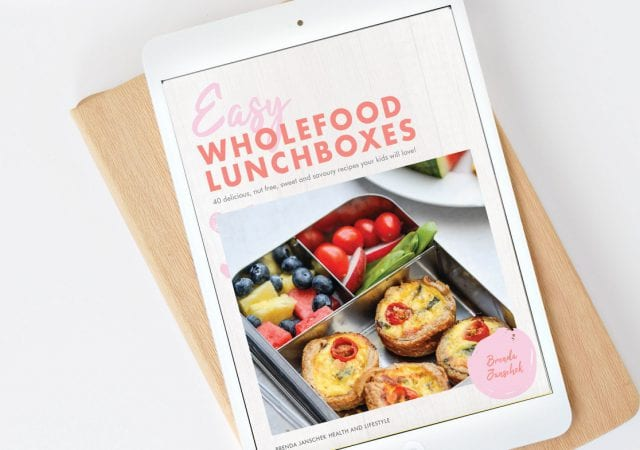Easy Wholefood Lunchboxes